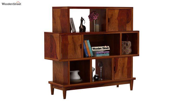 Ritson Bookshelf (Honey Finish)-1