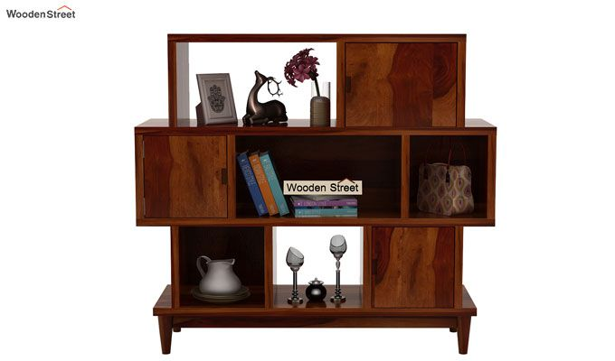 Ritson Bookshelf (Honey Finish)-2