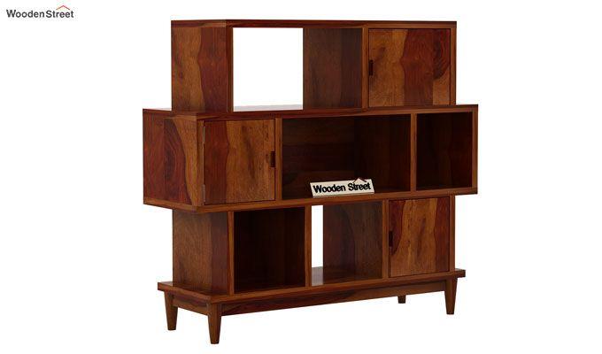 Ritson Bookshelf (Honey Finish)-4