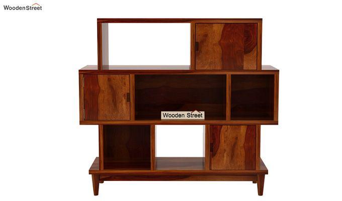 Ritson Bookshelf (Honey Finish)-5