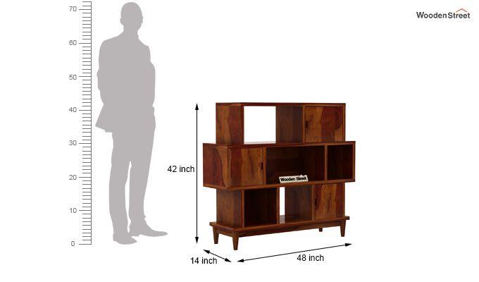 Ritson Bookshelf (Honey Finish)-6