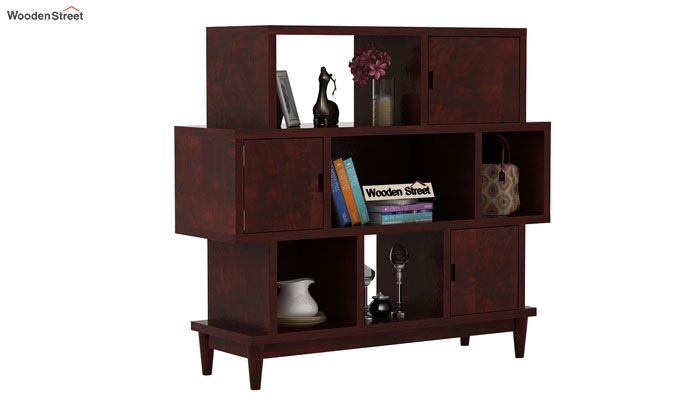 Ritson Bookshelf (Mahogany Finish)-1