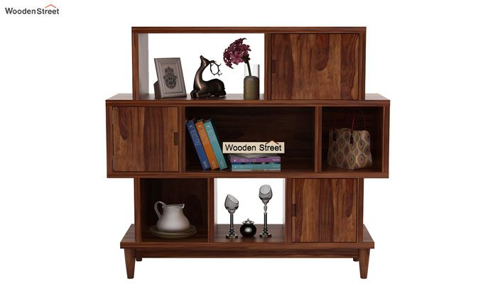Ritson Bookshelf (Teak Finish)-2