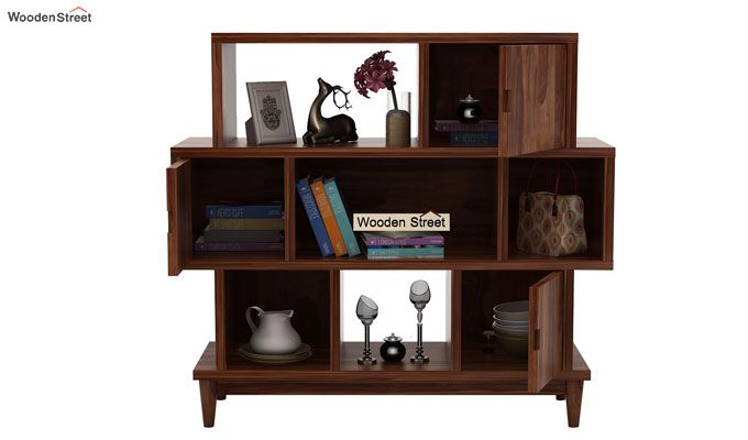 Ritson Bookshelf (Teak Finish)-3