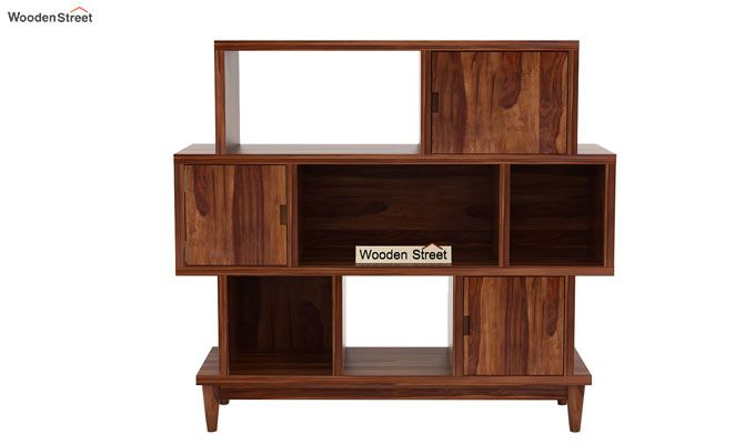 Ritson Bookshelf (Teak Finish)-5