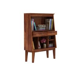 Rovelo Bookshelf (Teak Finish)