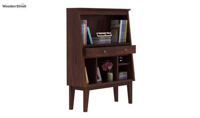 Rovelo Bookshelf (Walnut Finish)-1
