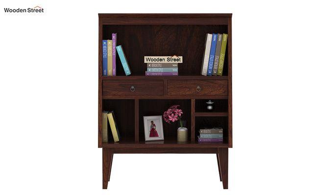 Rovelo Bookshelf (Walnut Finish)-3
