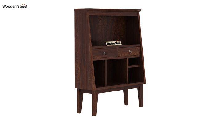 Rovelo Bookshelf (Walnut Finish)-4