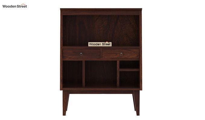 Rovelo Bookshelf (Walnut Finish)-5