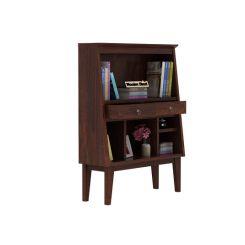 Rovelo Bookshelf (Walnut Finish)