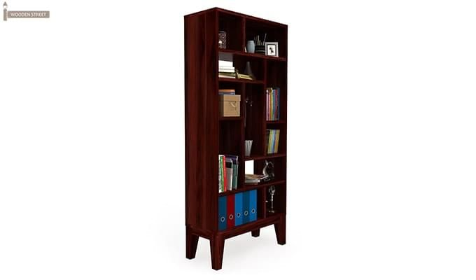Samuel Book Case (Mahogany Finish)-2