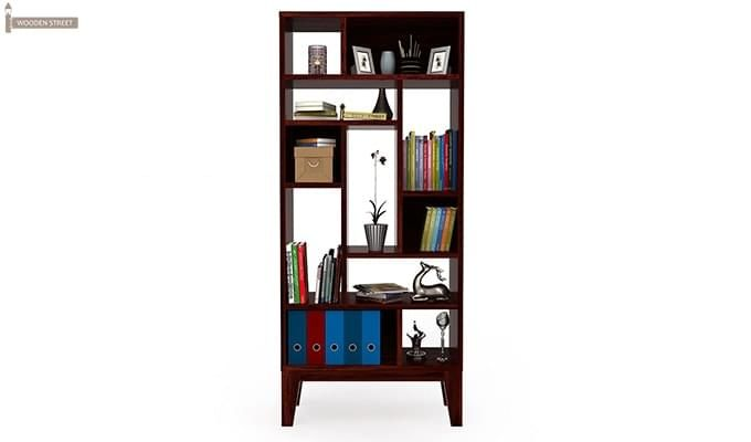Samuel Book Case (Mahogany Finish)-3