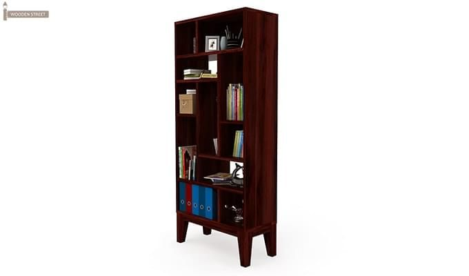 Samuel Book Case (Mahogany Finish)-4