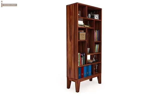 Samuel Book Case (Teak Finish)-2