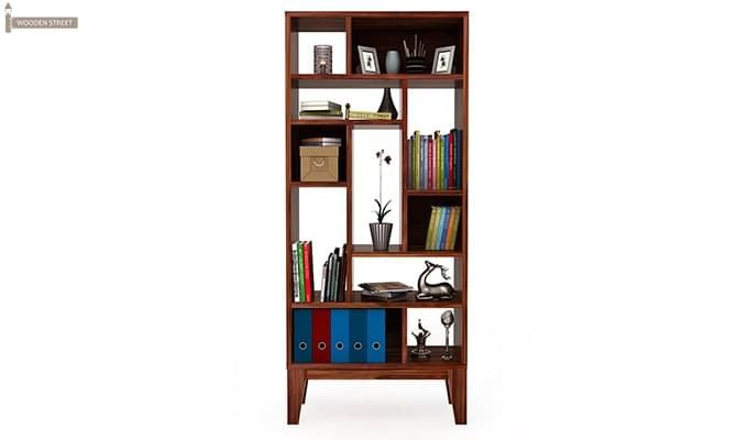 Samuel Book Case (Teak Finish)-3