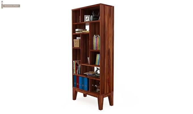 Samuel Book Case (Teak Finish)-4