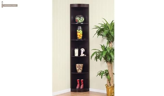 Sean Book Shelves (Black Finish)-1