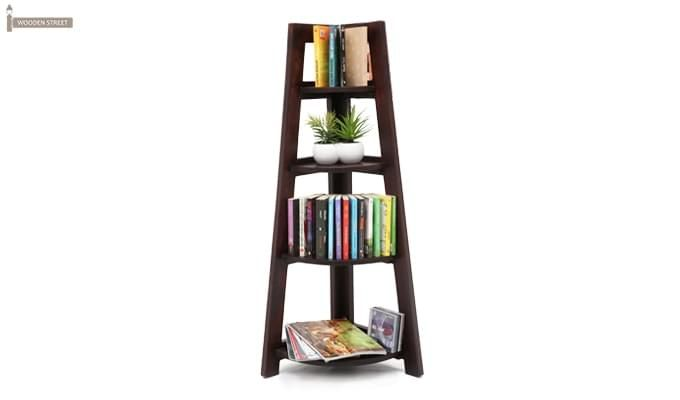 Severino Bookshelf (Mahogany Finish)-1