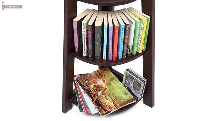 Severino Bookshelf (Mahogany Finish)-11