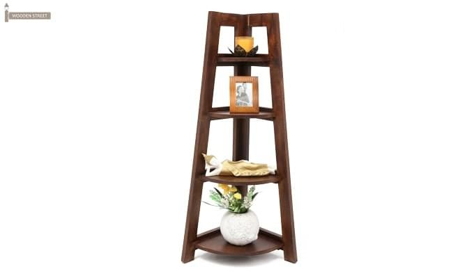 Severino Store Bookshelf (Honey Finish)-1
