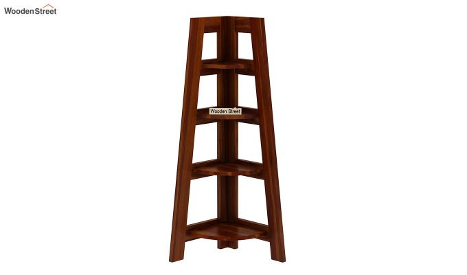 Severino Bookshelf (Honey Finish)-3