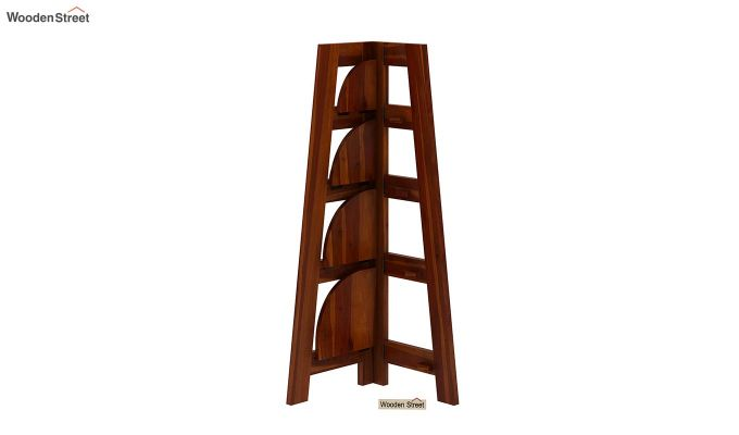 Severino Bookshelf (Honey Finish)-4