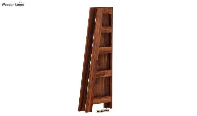 Severino Bookshelf (Teak Finish)-7