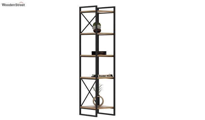 Stark Loft BookShelf (Natural Finish)-2