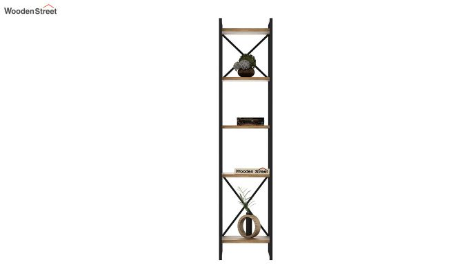 Stark Loft BookShelf (Natural Finish)-3