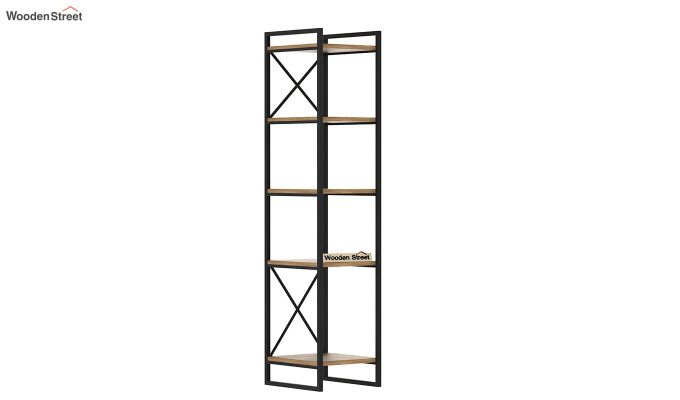 Stark Loft BookShelf (Natural Finish)-4