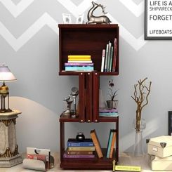 Sybil Bookshelf (Mahogany Finish)