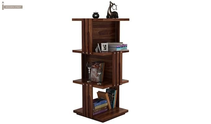 Sybil Bookshelf (Teak Finish)-2