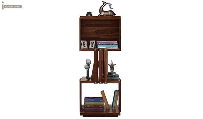 Sybil Bookshelf (Teak Finish)-3