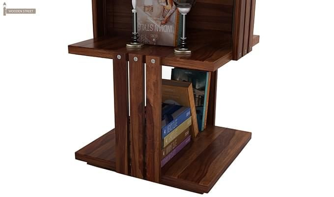 Sybil Bookshelf (Teak Finish)-5