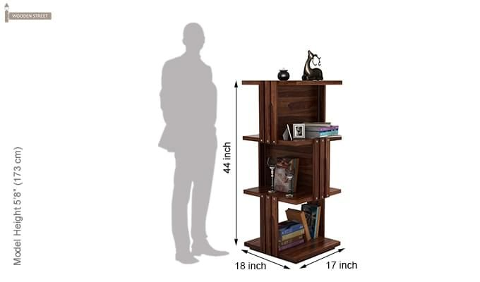 Sybil Bookshelf (Teak Finish)-6
