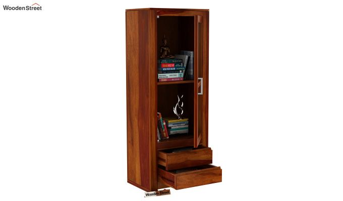 Theo Bookshelf (Honey Finish)-5