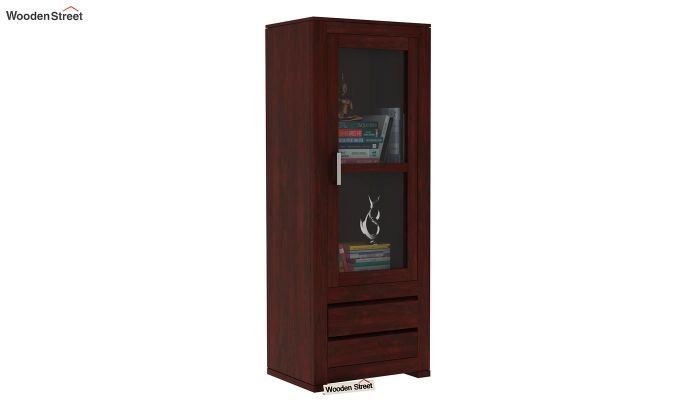 Theo Bookshelf (Mahogany Finish)-1