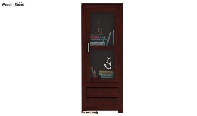 Theo Bookshelf (Mahogany Finish)-2