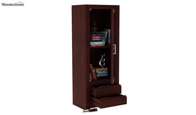 Theo Bookshelf (Mahogany Finish)-5