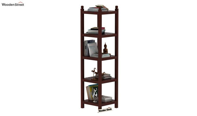Topaz Bookshelf (Mahogany Finish)-1