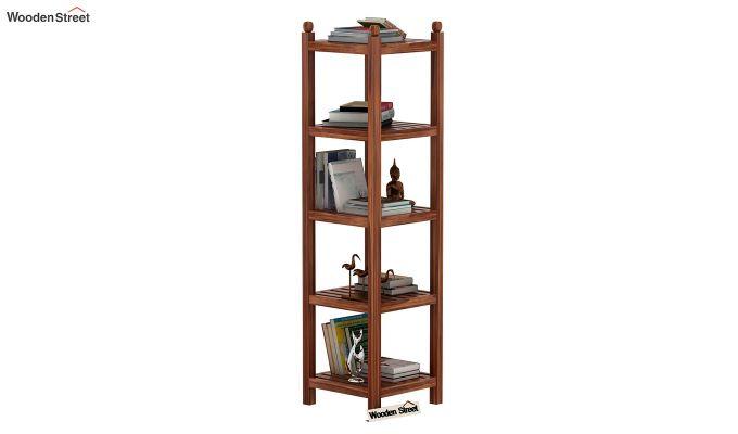 Topaz Bookshelf (Teak Finish)-1