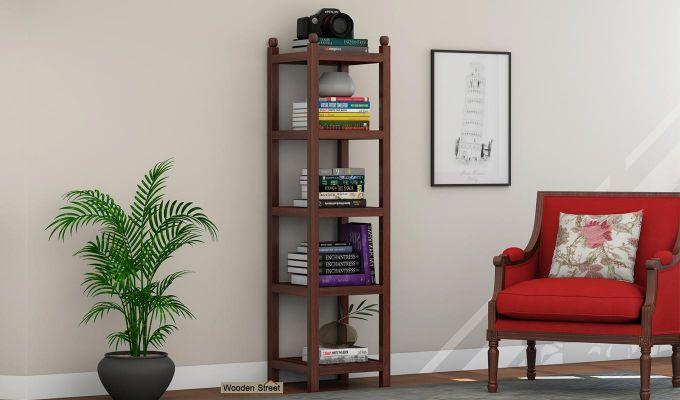 Topaz Bookshelf (Walnut Finish)-1