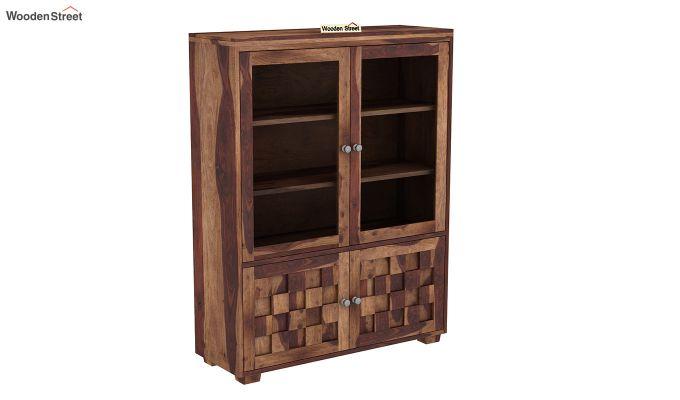 Travis Book Shelf (Teak Finish)-2