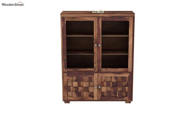 Travis Book Shelf (Teak Finish)-3