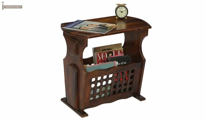 Tredwell Magazine Rack (Walnut Finish)-1