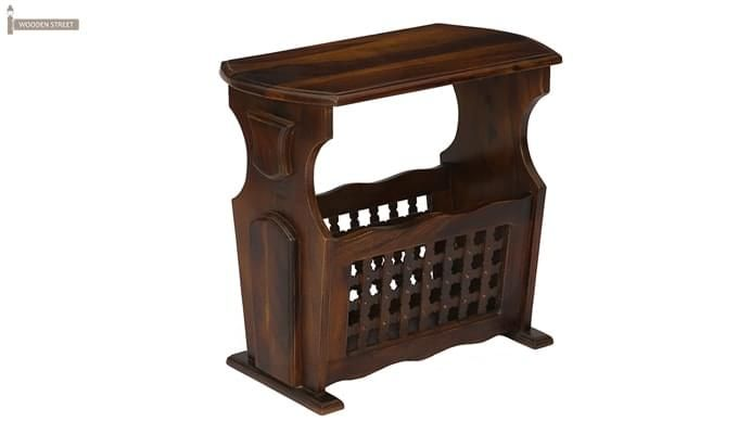 Tredwell Magazine Rack (Walnut Finish)-4