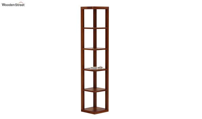 Valley Book Shelf (Honey Finish)-2