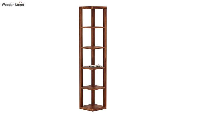 Valley Book Shelf (Teak Finish)-2