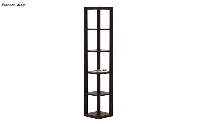 Valley Book Shelf (Walnut Finish)-2
